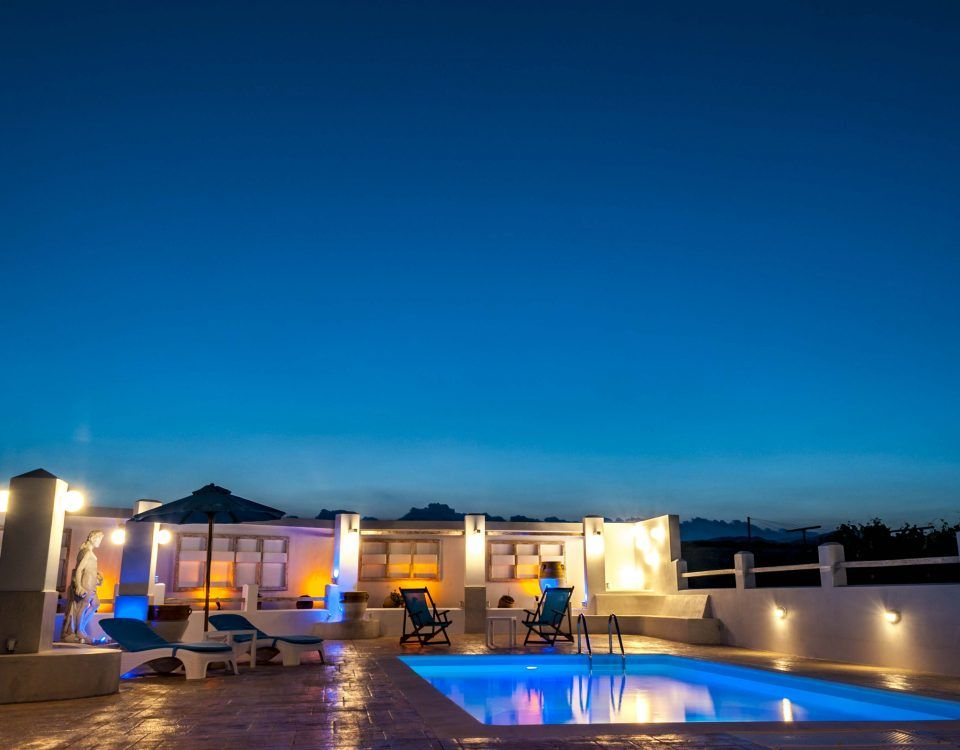 How to have a party by the pool at Villa Dionysus