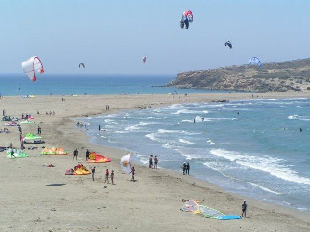 Enjoy your Surfing Experience at Prasonissi throughout the year, especially, in August!
